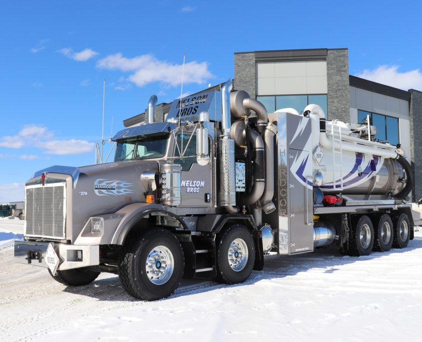 Nelson Bros Hydrovac Truck