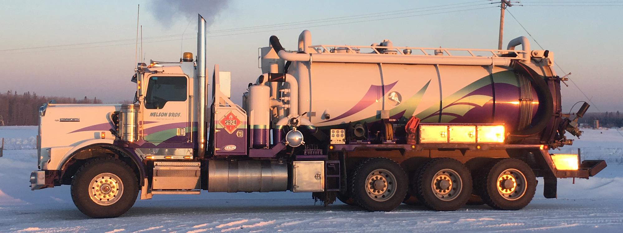 Nelson Bros Vac Truck