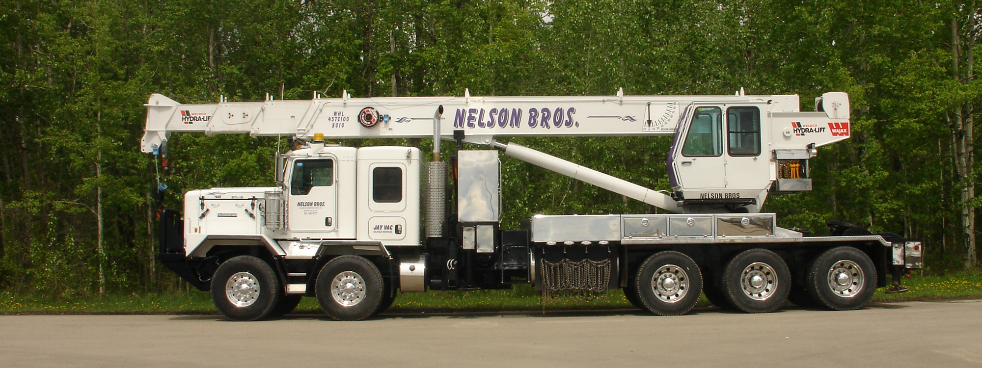 Nelson Brothers Picker Truck