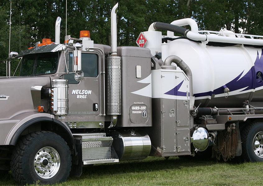 Heavy Hauling Truck